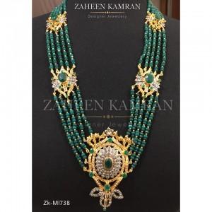 Emerald Barooch Mala!