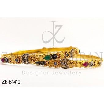 Classy Gold look bangles