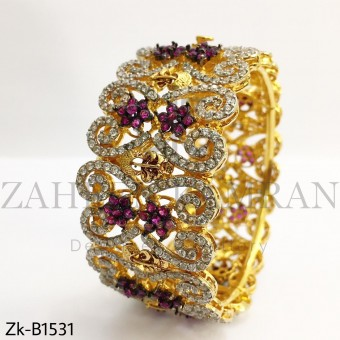 Elegant Zirconia Bangle