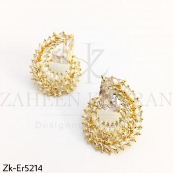 Elegant Zirconia earrings