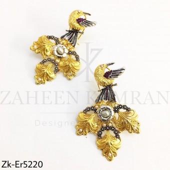 Birdy Gold Earrings