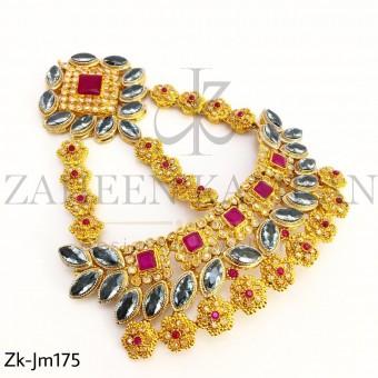 Rubby Golden Jhumar
