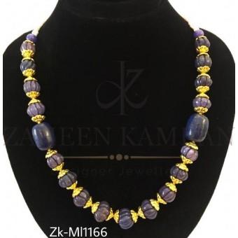 Marble beads mala