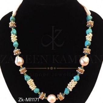 Feroza pearls bling