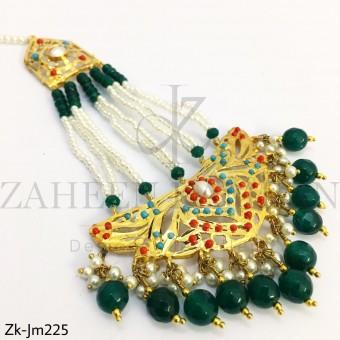 Emerald jhumar