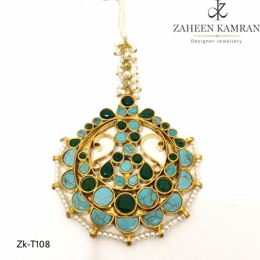 Emerald and Amethyst Stunning Tikka