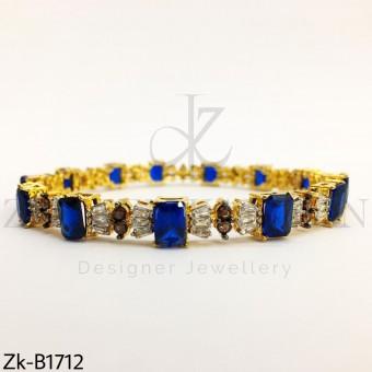 Sapphire sleek bangle