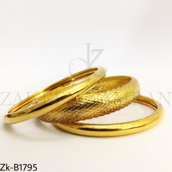 Textured bangle set