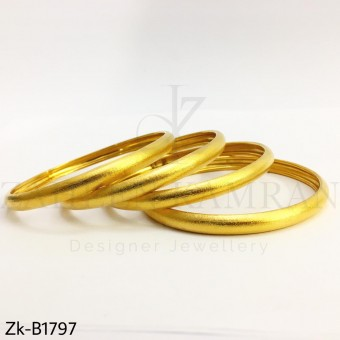 Signature matte bangles