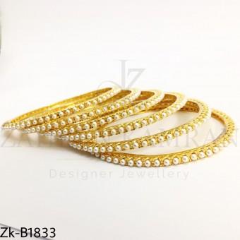 Pearls bangles