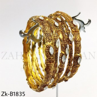 Golden classic bangles