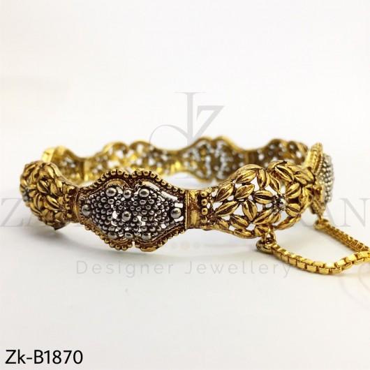 Antique golden bangle