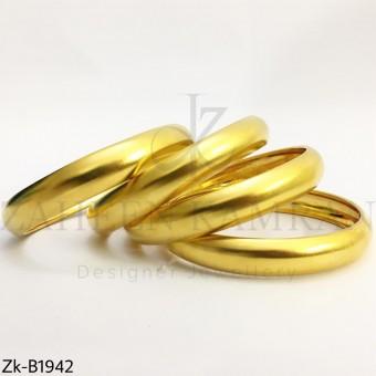 Broad shiny bangles