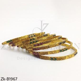 Sleek classic bangles
