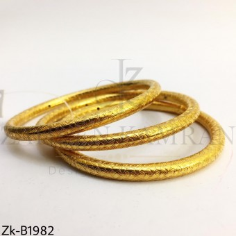 Textured bangles