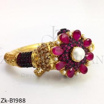 Ruby traditional bangle