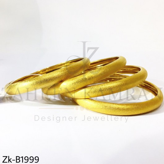 Golden glittery bangles