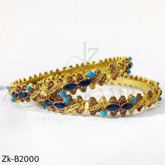 Feroza sapphire bangles