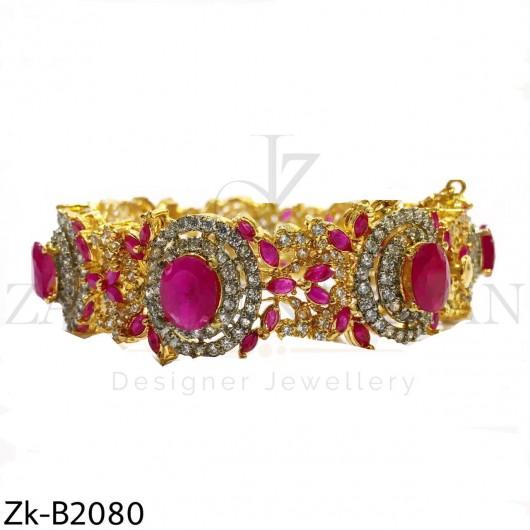Ruby zirconian bangle