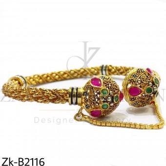 Twisted tradition bangle