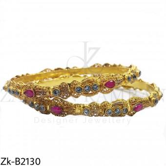 Traditional ruby bangles