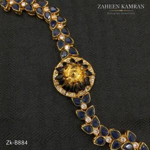 Agate Sapphire Flower Bracelet!