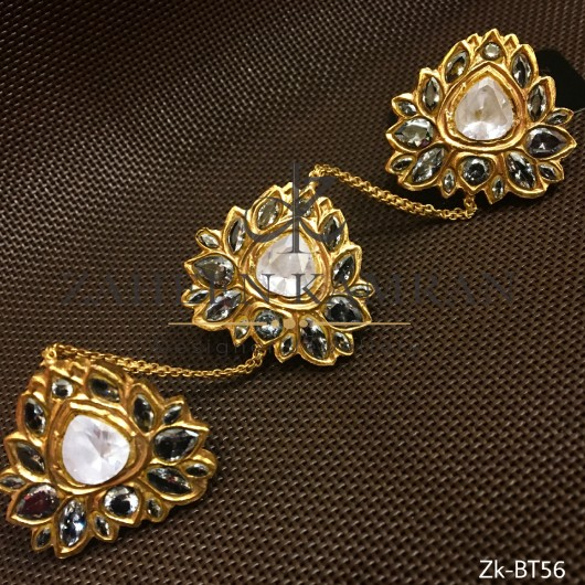 Pearls Sunning Button