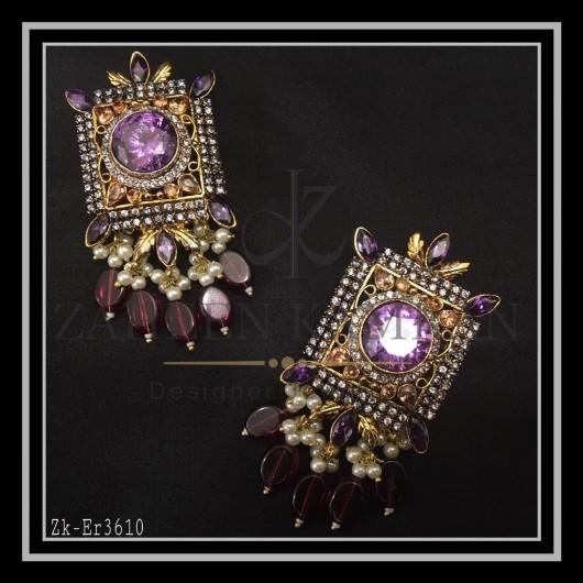 Amethyst Classic Earrings
