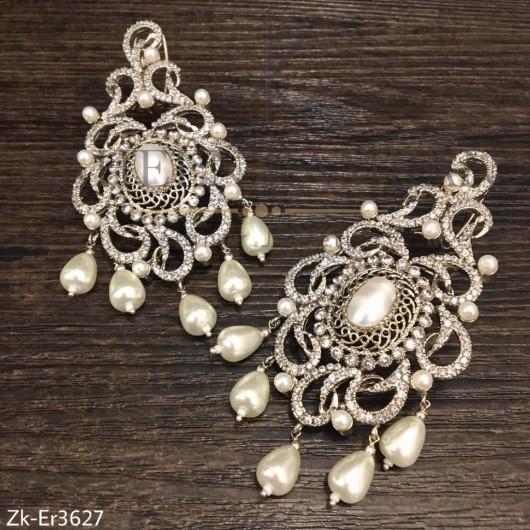 Splendid Pearls Danglers