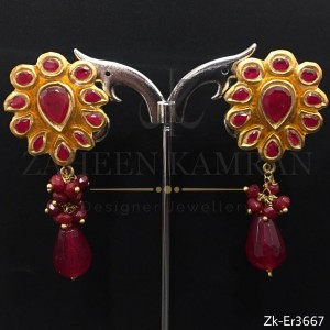 Perfect Ruby Kundan
