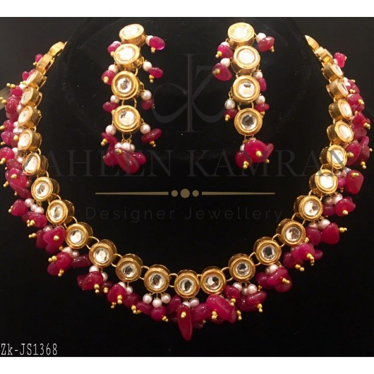 Kundan Ruby Necklace