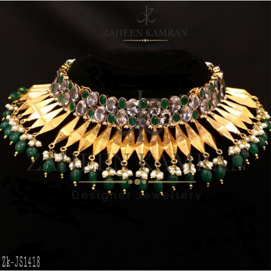 Classic Emerald Necklace
