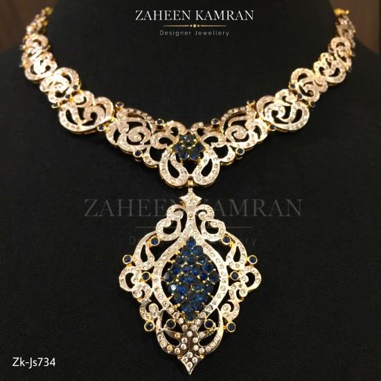 Shire Zircon Necklace Set