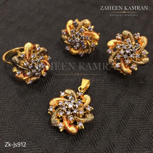 Flower Zircons Set!