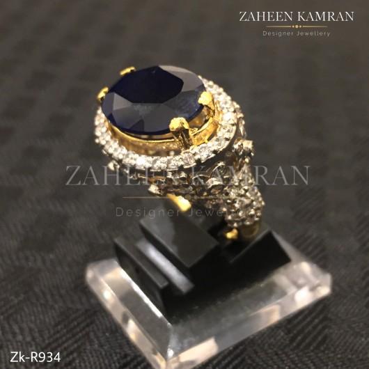 Dazzling Sapphire Ring!