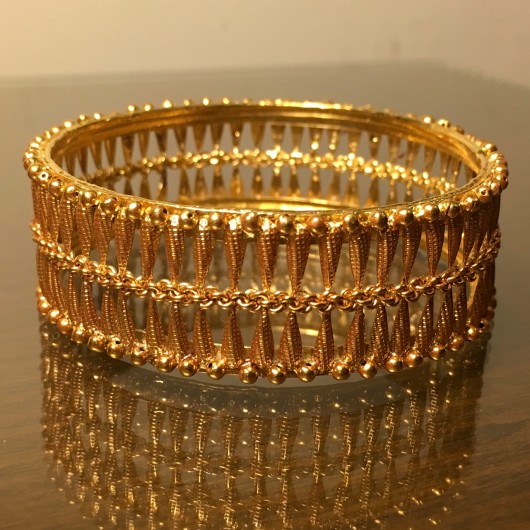Filigree Golden bangle!