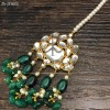 Sheesh Emerald Necklace Set