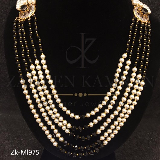 Agate Pearls Stunning Design Women's Mala