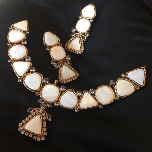 Glamorous Egyptian Pearl Set!
