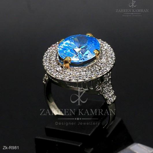 Elegance Zircon Ring