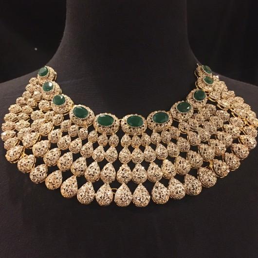Emerald Zircon Bridal Set!