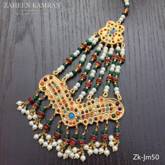 Multi-Color Kundan Jhoomer!