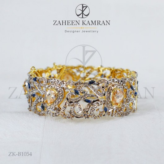 Captivating Zircon Bangle