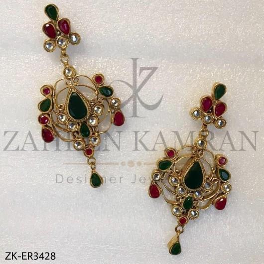 2 Colored Earrings