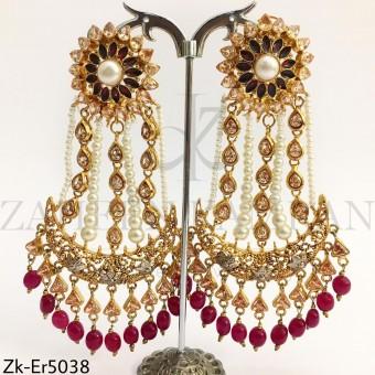 Ruby Champagne Earrings