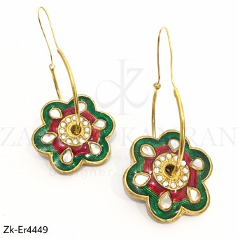 Multi Floral Earrings