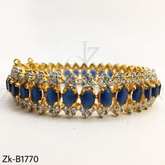 Sapphire Zirconian bangle