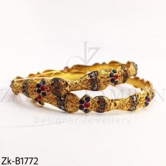 Golden bliss  bangles