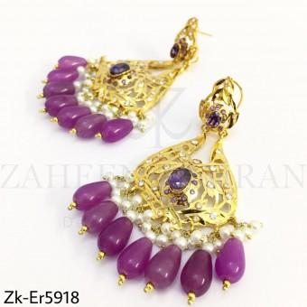 Amethyst Ari earrings