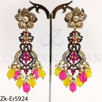 Neon stylish earrings